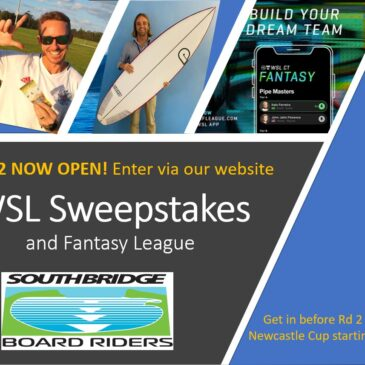 WSL sweepstakes fundraiser # 3 now open!