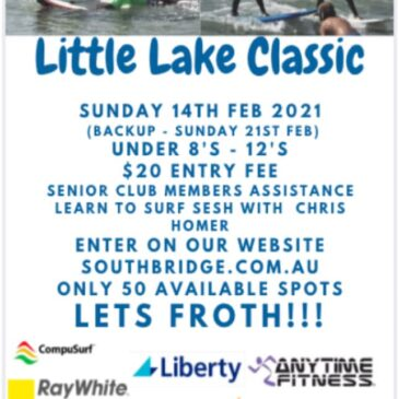 Only 3 more sleeps till the Little Lake Classic!