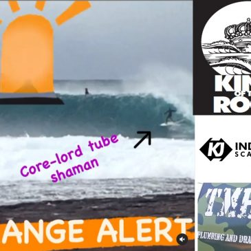 King of the Rock on Orange Alert for Saturday